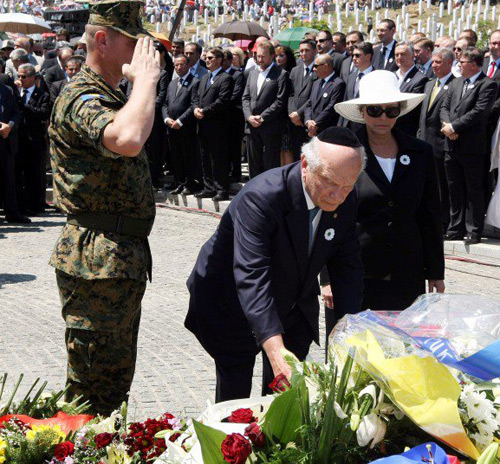 Srebrenica, Bosnia-Herzegovina – Rabbi Schneier Key Speaker At Srebrenica Memorial
