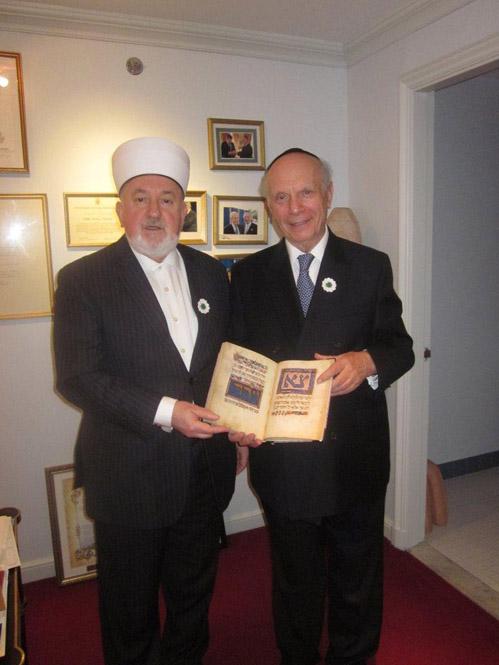 New York – Grand Mufti Ceric In New York