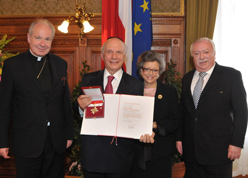 Vienna, Austria – Province Of Vienna Honors ACF President