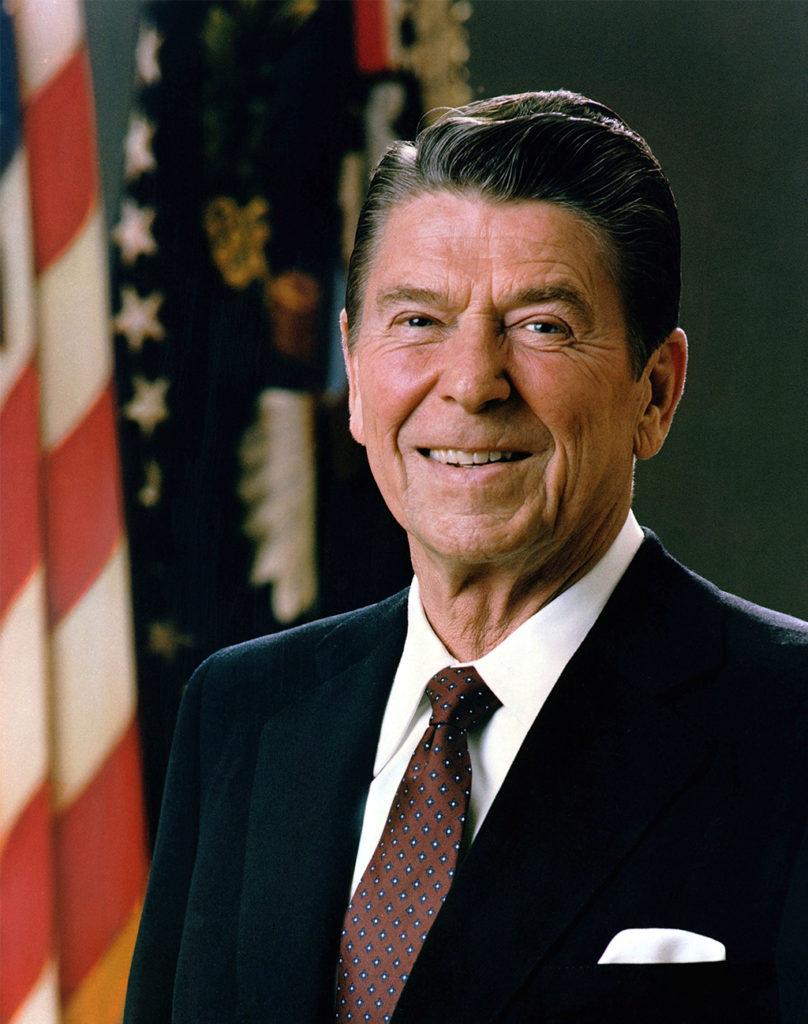 President Ronald Reagon