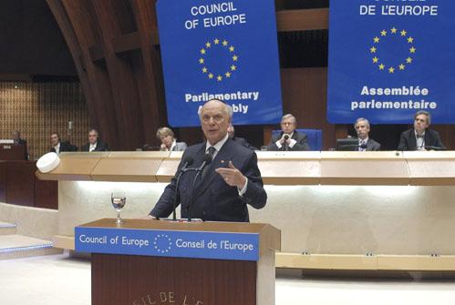 ACF President Addresses EU Parliamentary Assembly