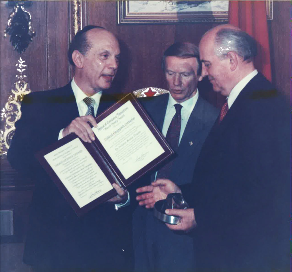 1991 Establishment of the ACF Gorbachev Scholar Programs